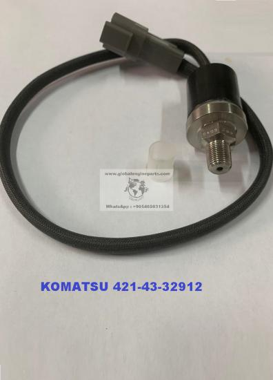 421-43-32912,Komatsu On Fren,Hava Basinc Musuru,Global Engine Parts,4214332912,